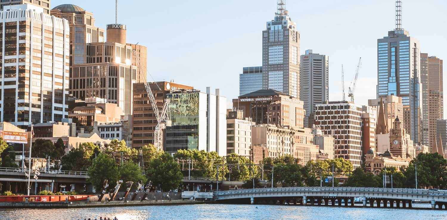 cityscape-river-melbourne-cbd | The Savoy Hotel on Little Collins