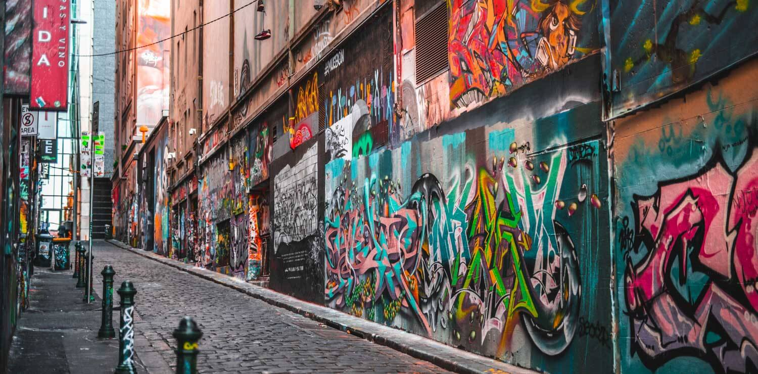 graffiti-art-melbourne-city-laneway | The Savoy Hotel on Little Collins