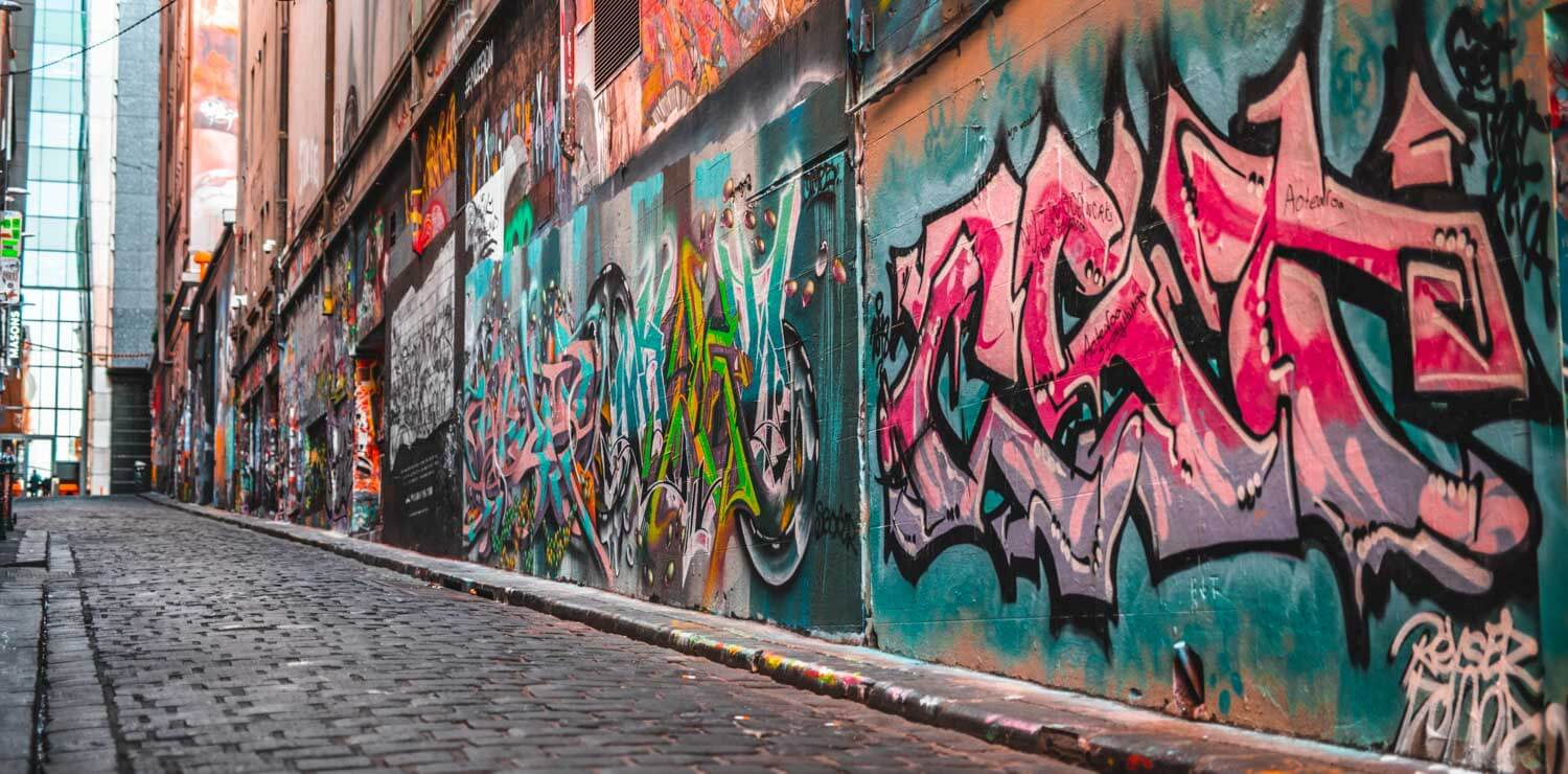 graffiti-street-art-melbourne-laneway | The Savoy Hotel on Little Collins