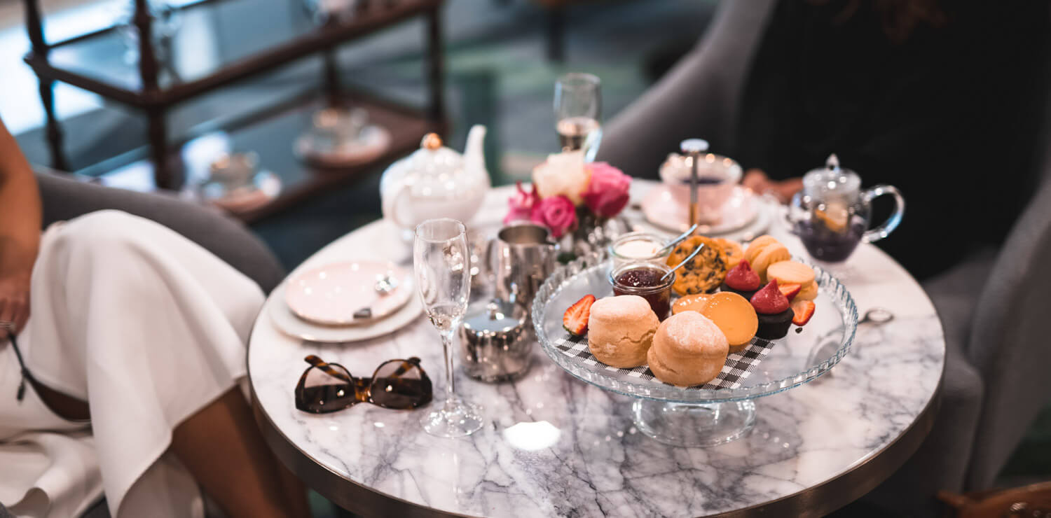 high-tea-setting-treats-tea-pots | The Savoy Hotel on Little Collins