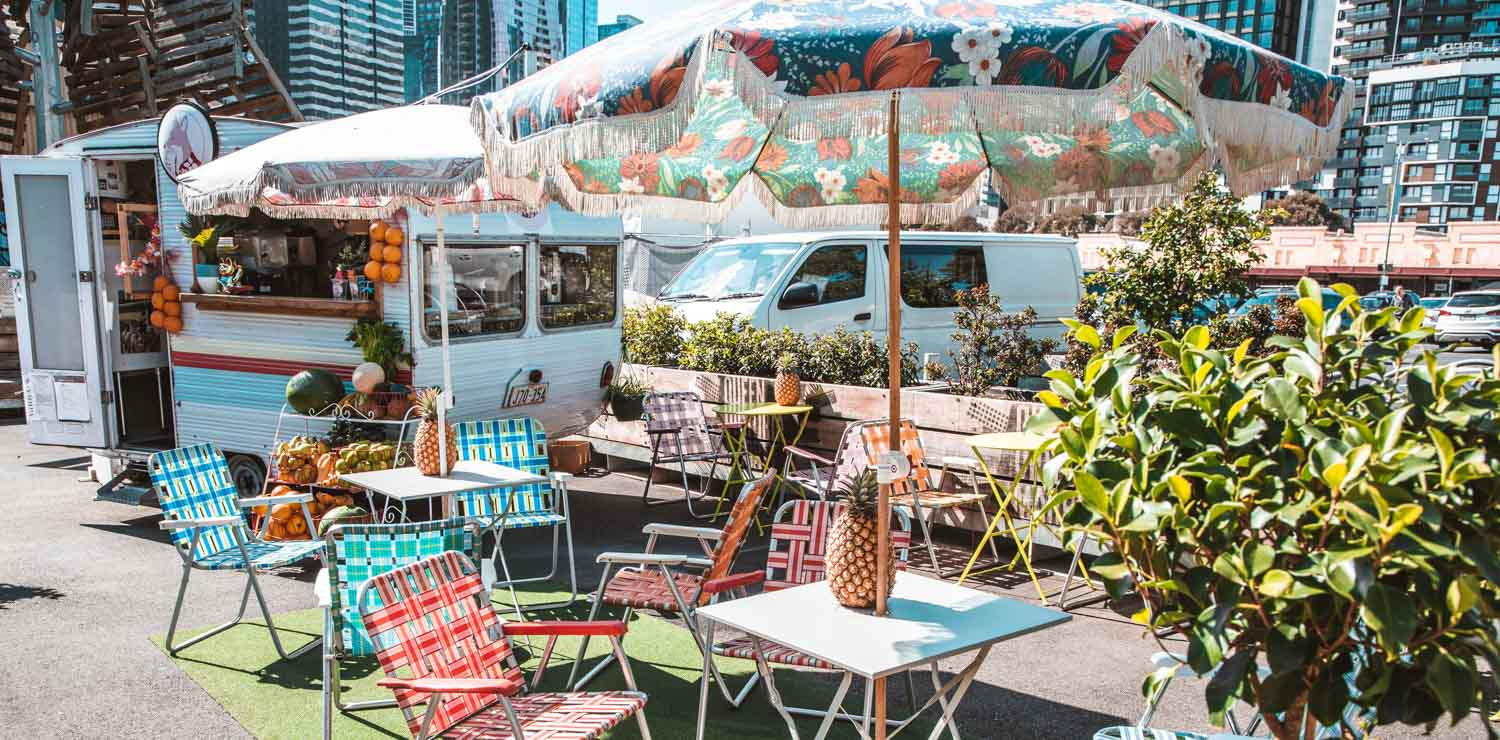 trendy-food-truck-cafe-melbourne-cbd | The Savoy Hotel on Little Collins
