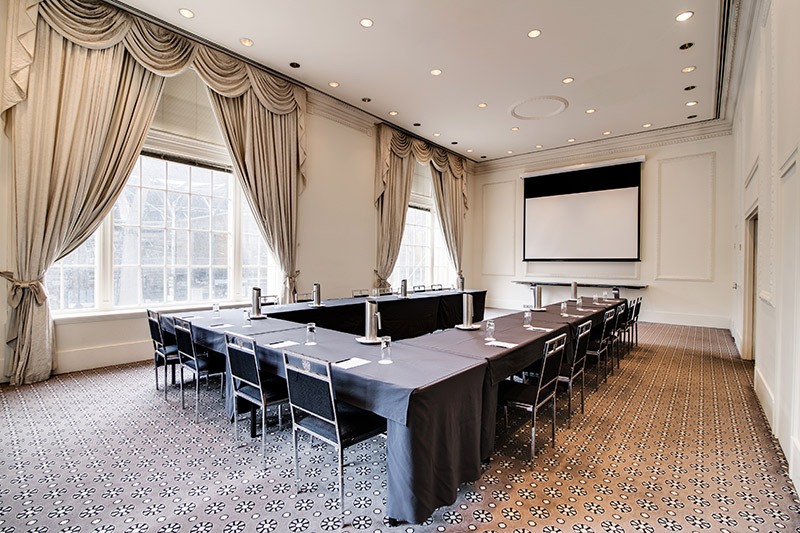 the-savoy-hotel-on-little-collins-melbourne-conference-spencer-room-u-shape-01-2018 | The Savoy Hotel on Little Collins