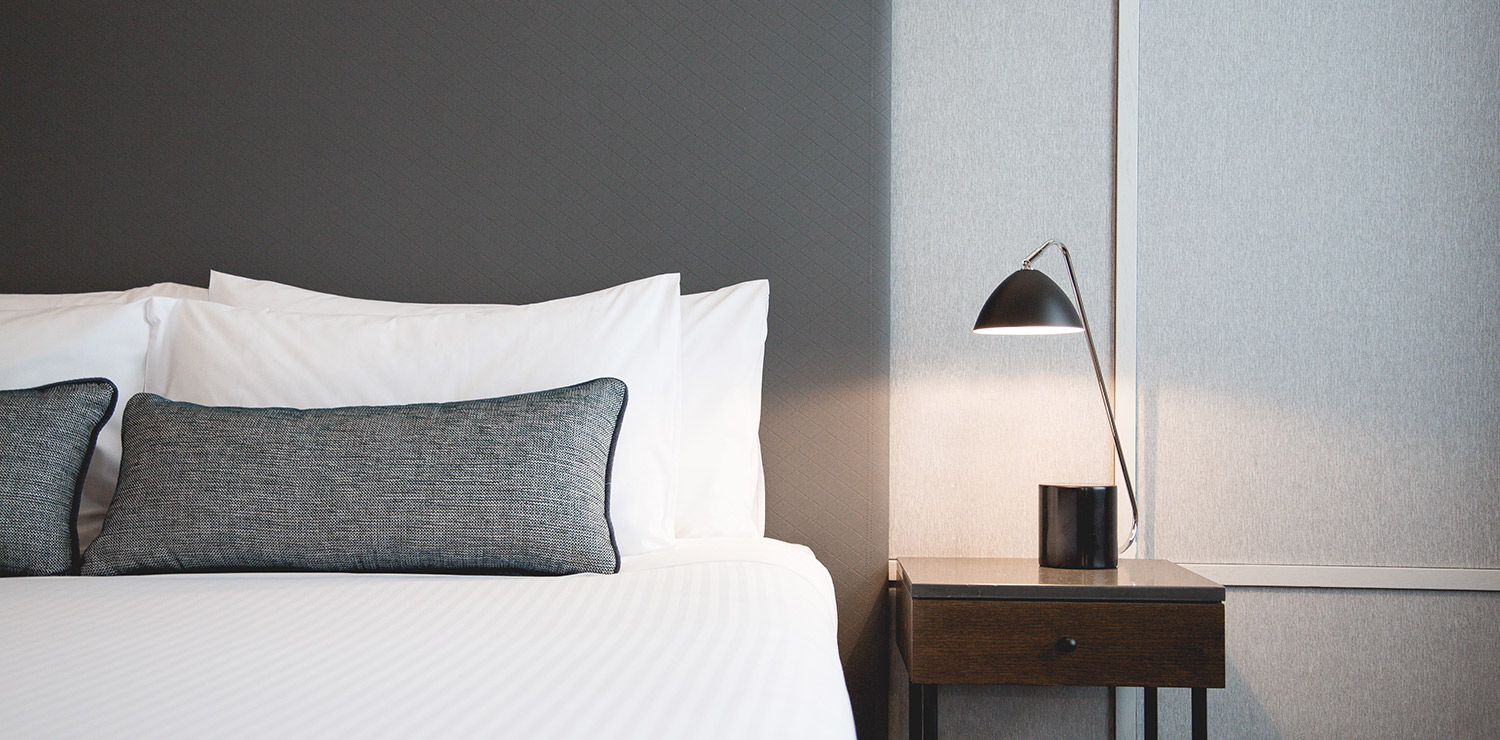 the-savoy-hotel-on-little-collins-melbourne-guest-room-bedroom-detail-01-2018 | The Savoy Hotel on Little Collins